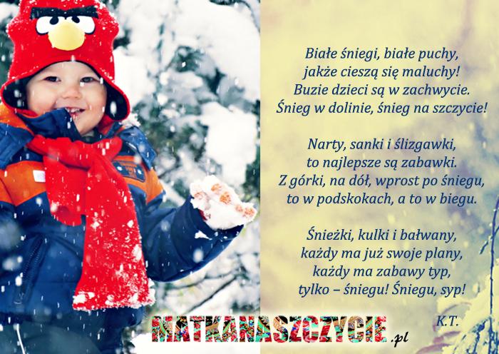 Wierszyk o zimie