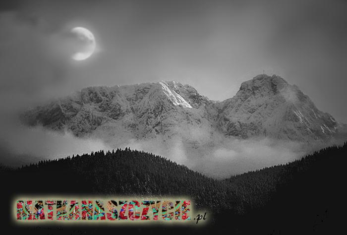 Księżyc nad Kościeliskiem