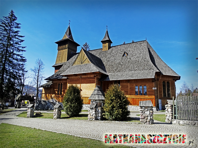 Kościół drewniany w Kościelisku