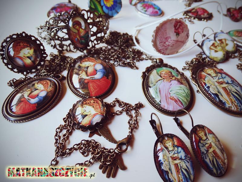 Biżuteria z kaboszonów