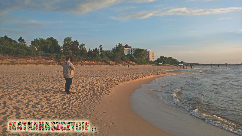 Międzyzdroje plaża molo