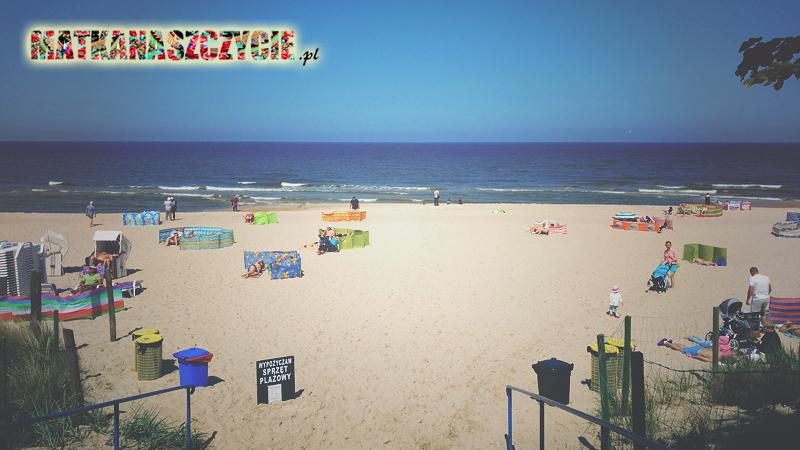 Międzyzdroje plaża