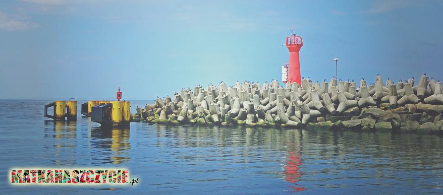 Kołobrzeg wejście do portu
