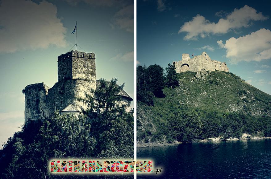 Zamek Niedzica Czorsztyn