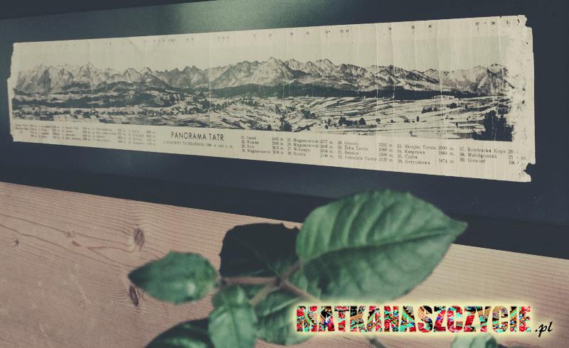 panorama Tatr Bukowina