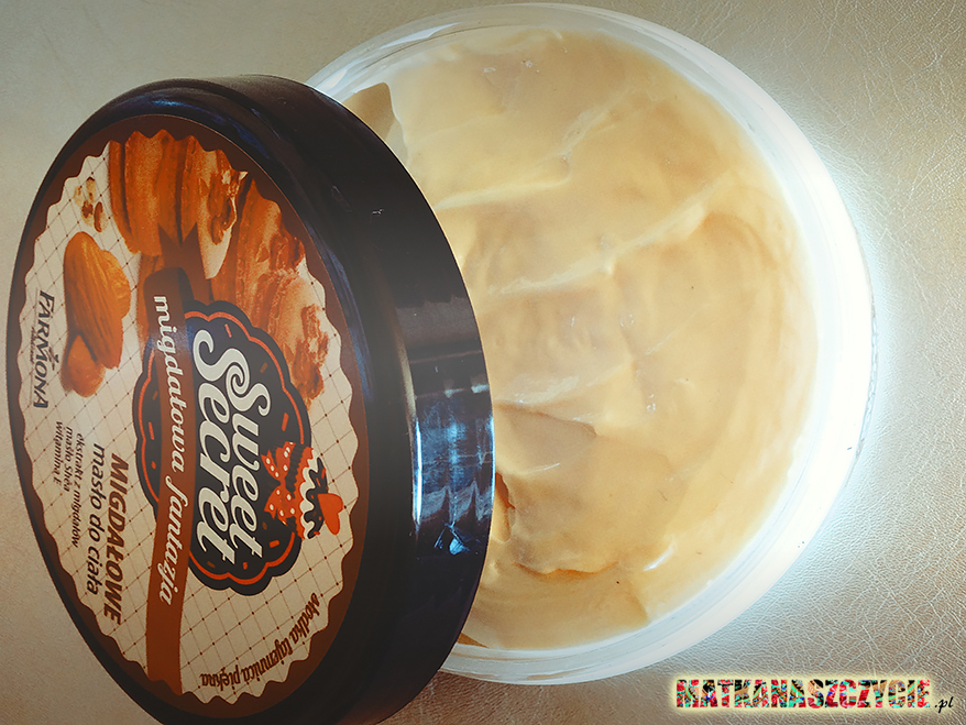 migdałowe masło do ciała Farmona