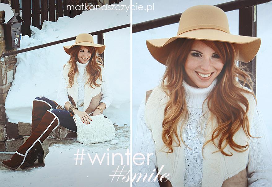zimowa stylizacja bonprix blog
