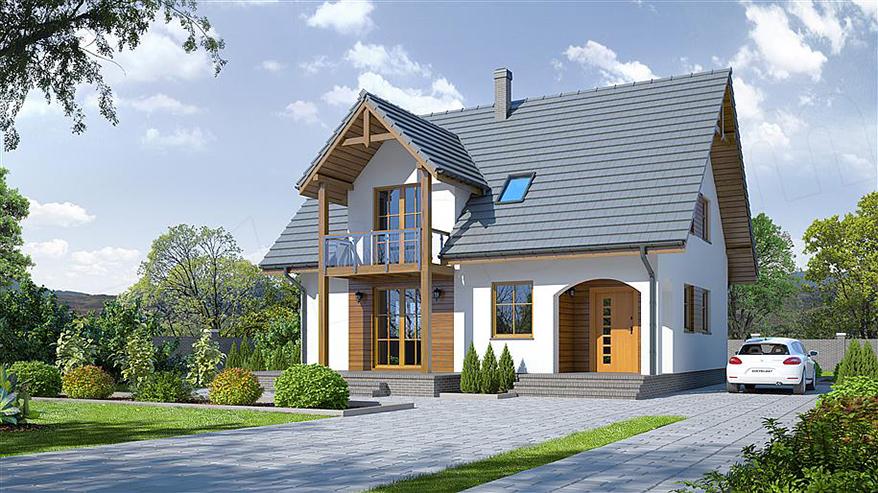 Projekt domu Grabie Nowe 3 KRP1507