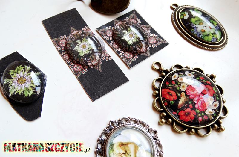 Biżuteria z kaboszonami