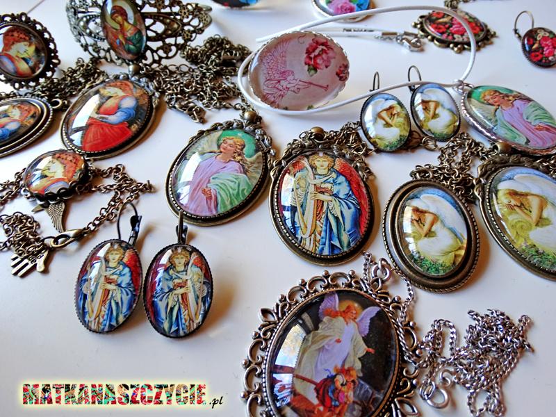 Biżuteria z aniołami