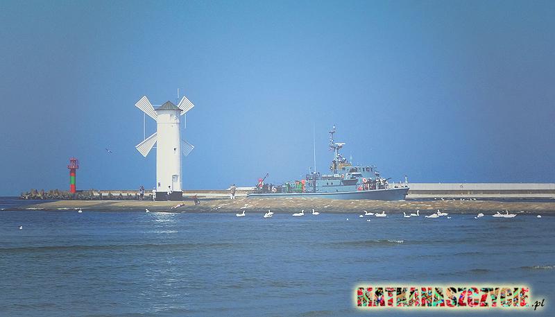 Wejście do portu Świnoujście