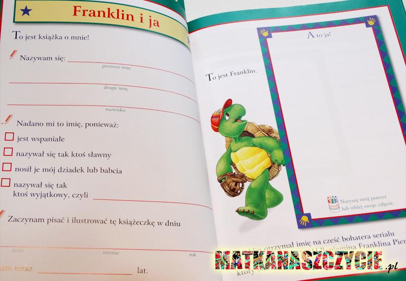Franklin i ja książka