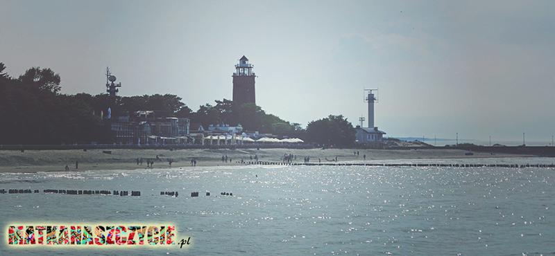 Kołobrzeg port latarnia morska