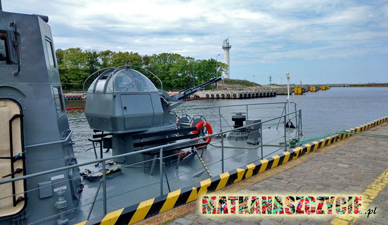 rejsy okrętem torpedowym Kołobrzeg