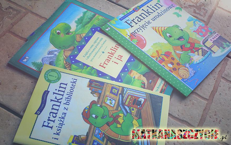 Franklin książeczki
