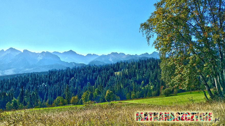 Punt widokowy Tatry