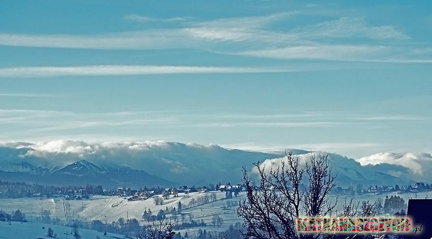 halny w Tatrach