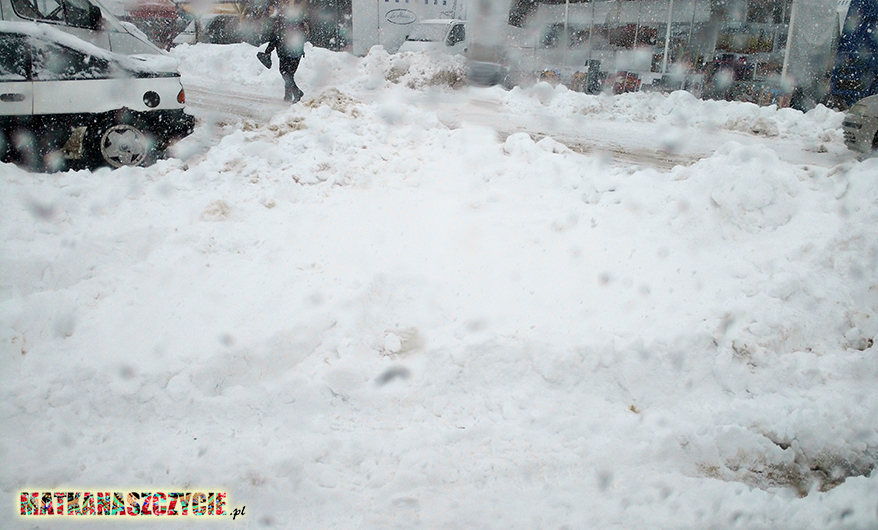 atak zimy Podhale