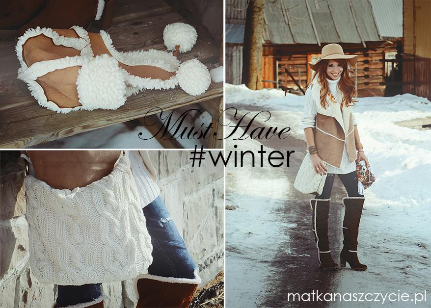 kożuszkowe dodatki zimowa moda